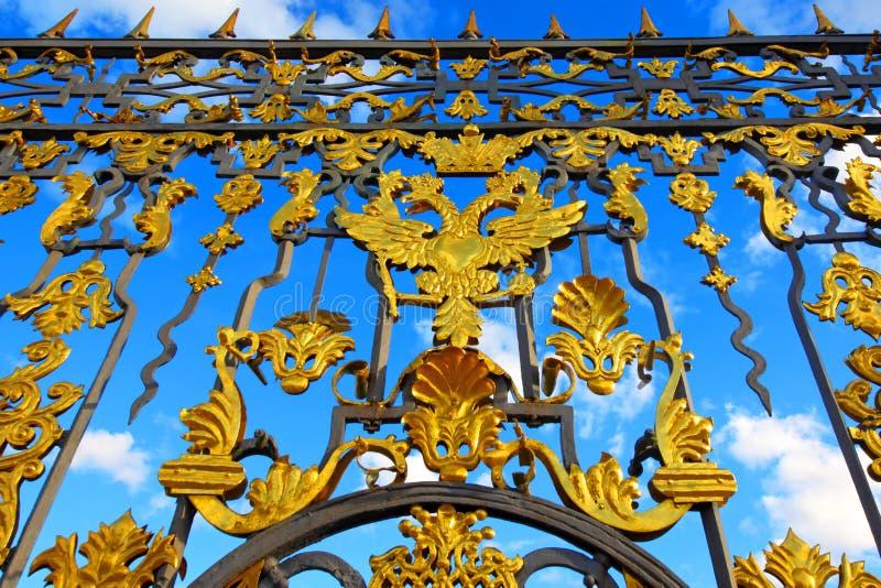 Peterhof. St Petersburg.  Ryssland royaltyfria foton