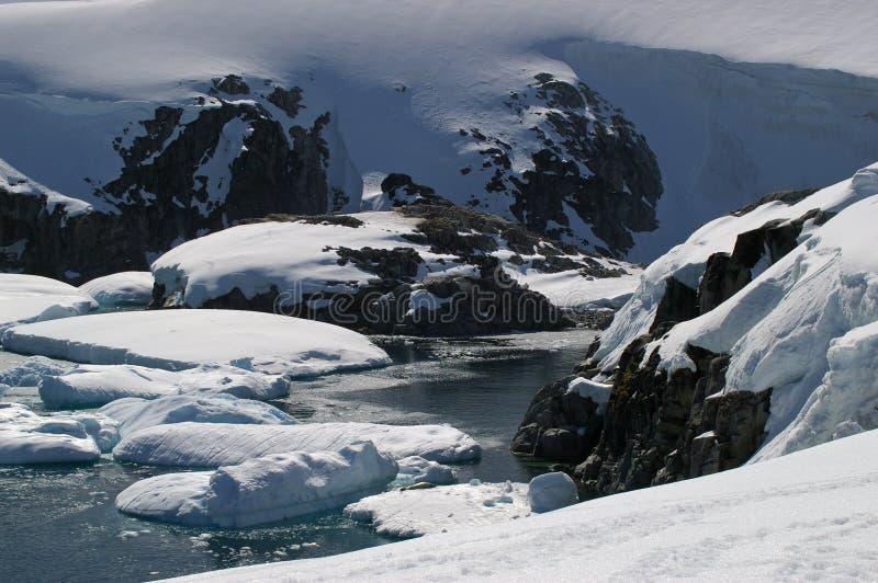Petermann Island - Antarctica stock photography
