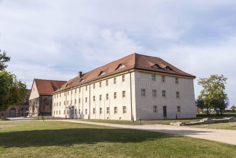 Petersberg Citadel in Erfurt stock photography