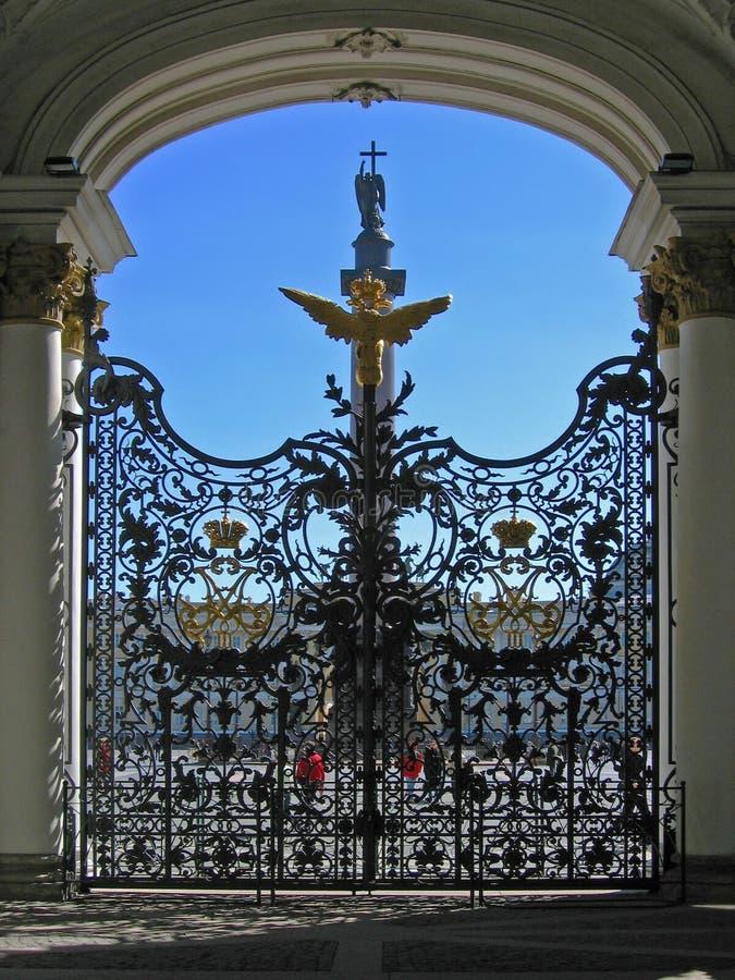 petersburg för porteremitboningmuseum st royaltyfri bild