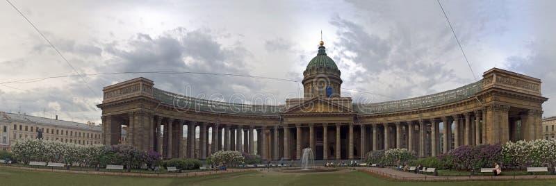 petersburg katedralny kazansky st Russia fotografia stock