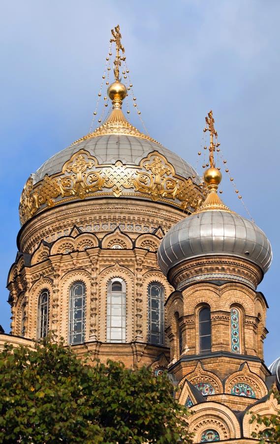 Petersburg Kościelny Ortodoksyjny święty Zdjęcia Stock