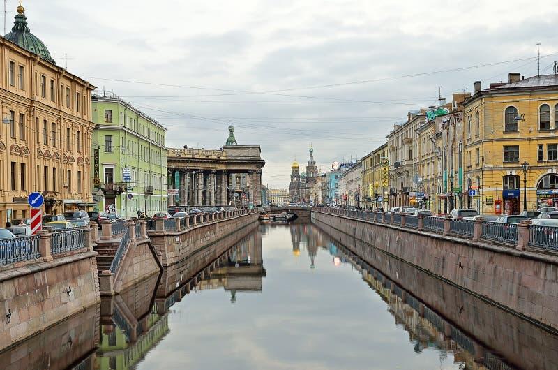 Petersburg, Rosja fotografia royalty free