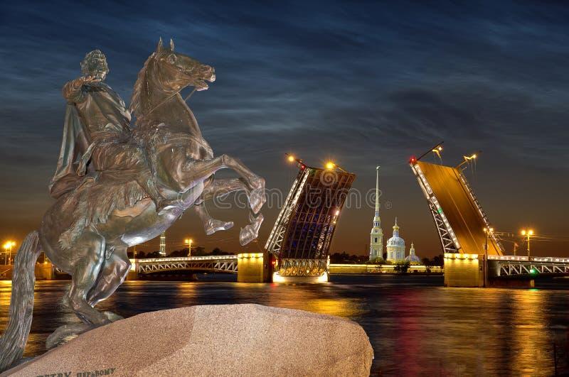 petersburg Rosji st fotografia royalty free