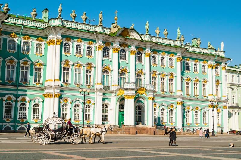 petersburg Rosji st Twierdzi eremu muzeum i zaludnia odprowadzenie przy pa?ac kwadratem, miasto krajobraz obraz royalty free