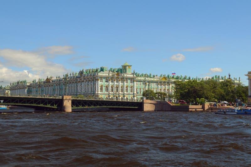 petersburg russia saint arkivfoton