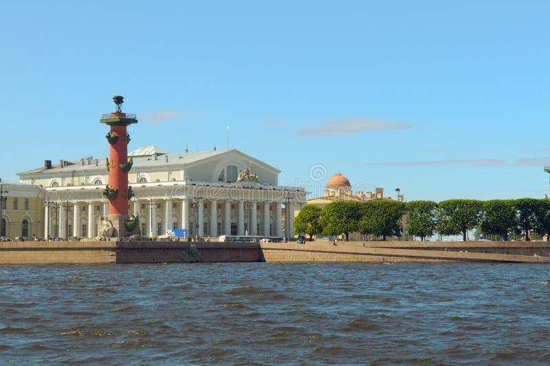 petersburg strzałkowaty święty Russia fotografia stock