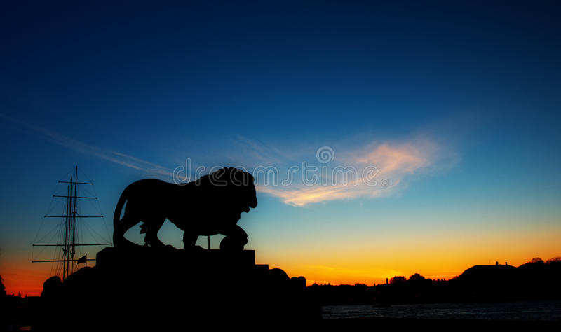 Download Petersburg sunset stock photo. Image of clouds, sunset - 27066692