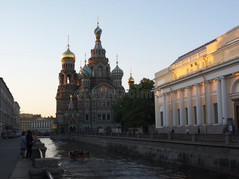 Petersburgu krew świętego zbawiciela obrazy stock