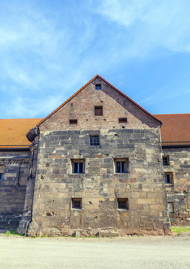 The Peterskirche, St Peter's Church, in Erfurt royalty free stock photo