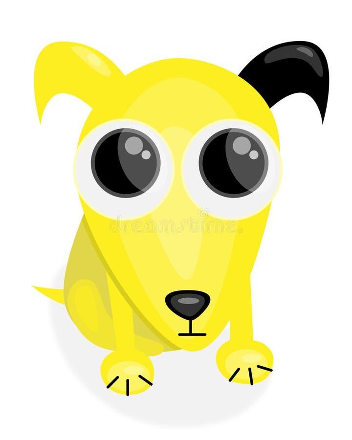 Petición del perro libre illustration