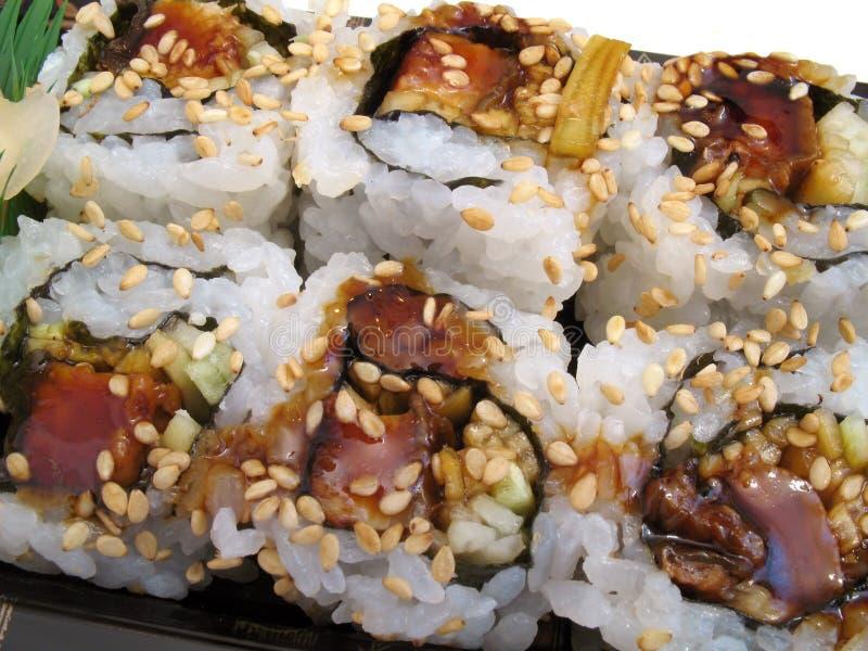 Petisco do sushi imagens de stock
