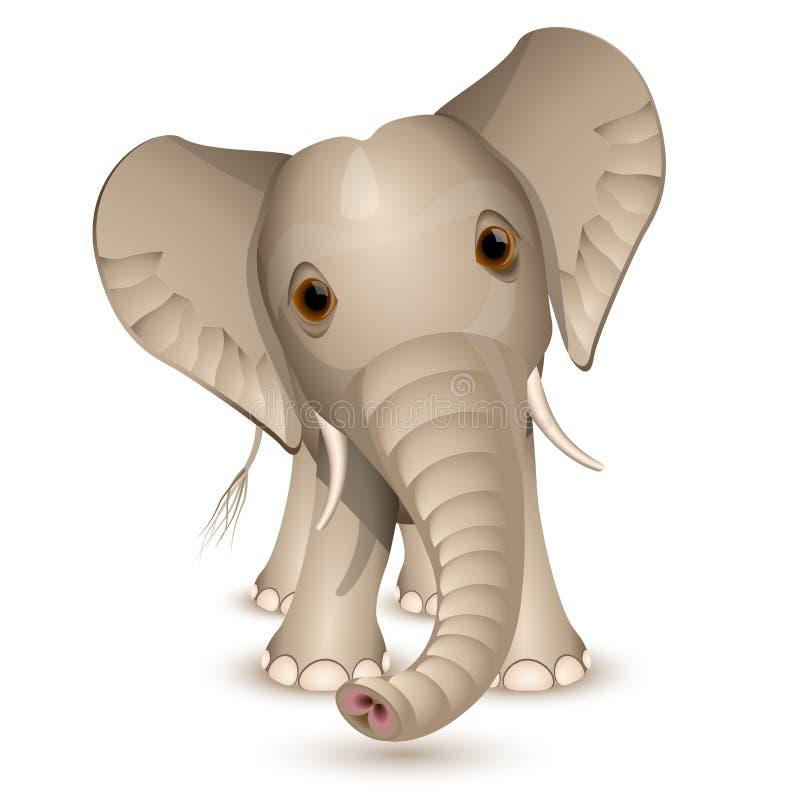 Petit éléphant illustration libre de droits
