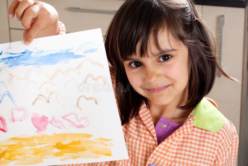 Petit artiste fier images libres de droits