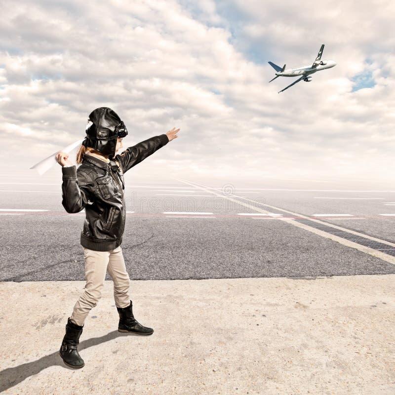Petit aviateur photographie stock