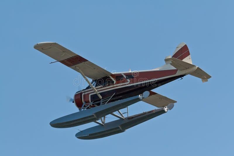Petit avion de mer images stock