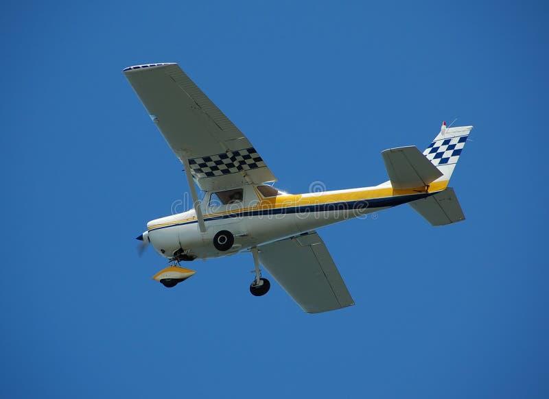 Petit avion privé pour la charte photographie stock libre de droits