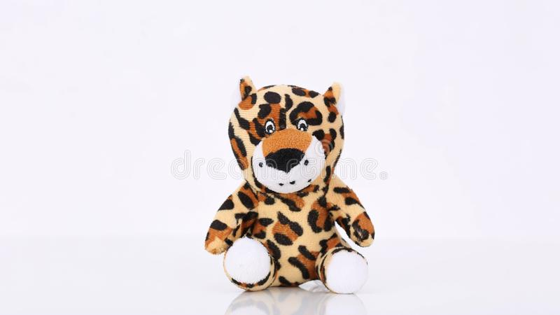 Petit bébé mignon de tigre vous attendant image stock