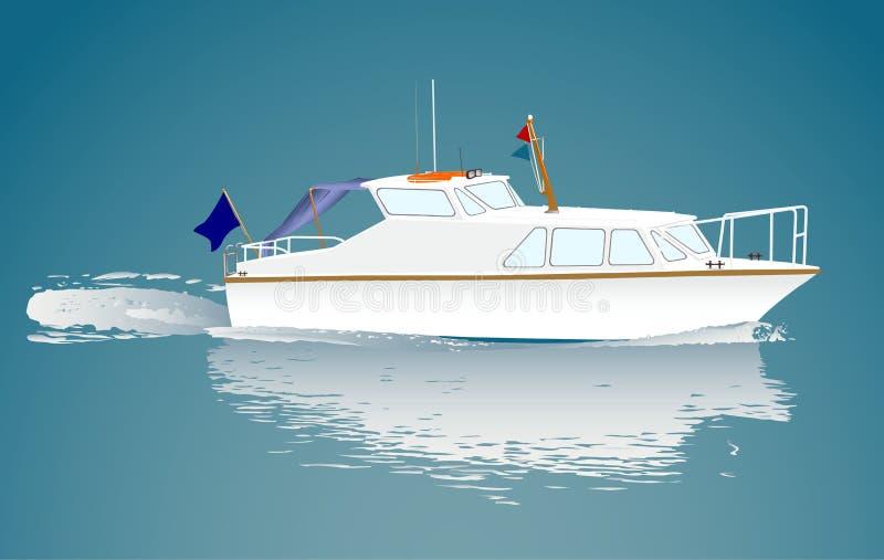 Petit bateau illustration libre de droits