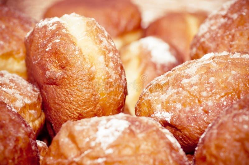 Petit beignet savoureux photos stock