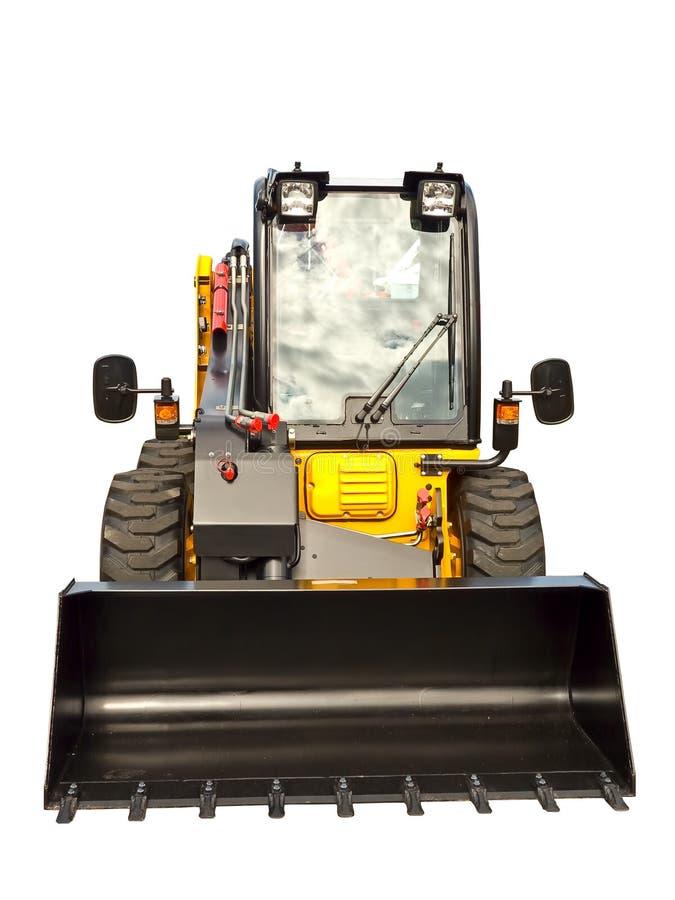 Petit buldozer photographie stock libre de droits