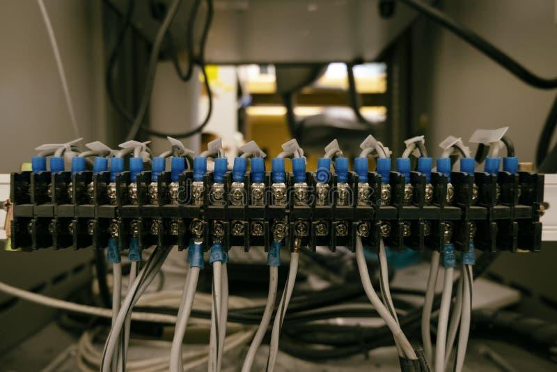 Petit cable électrique photo libre de droits