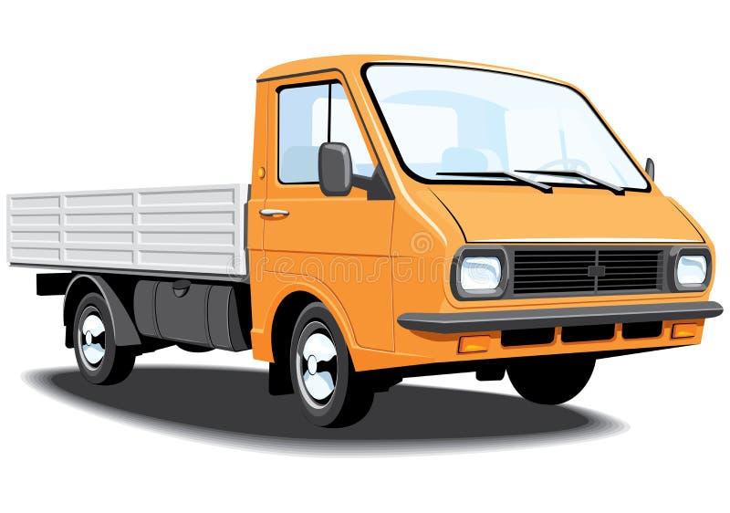 Petit camion illustration stock