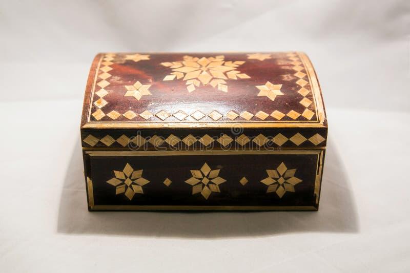 Petit cercueil pour des objets de valeur photos stock