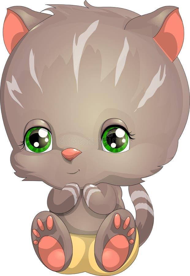 Petit chaton illustration stock