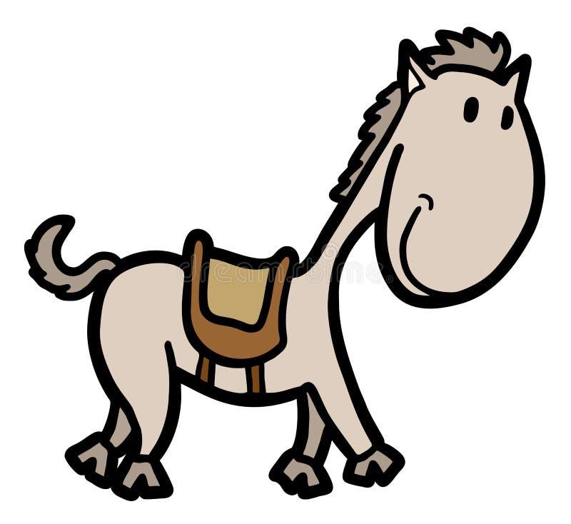 Petit cheval illustration stock