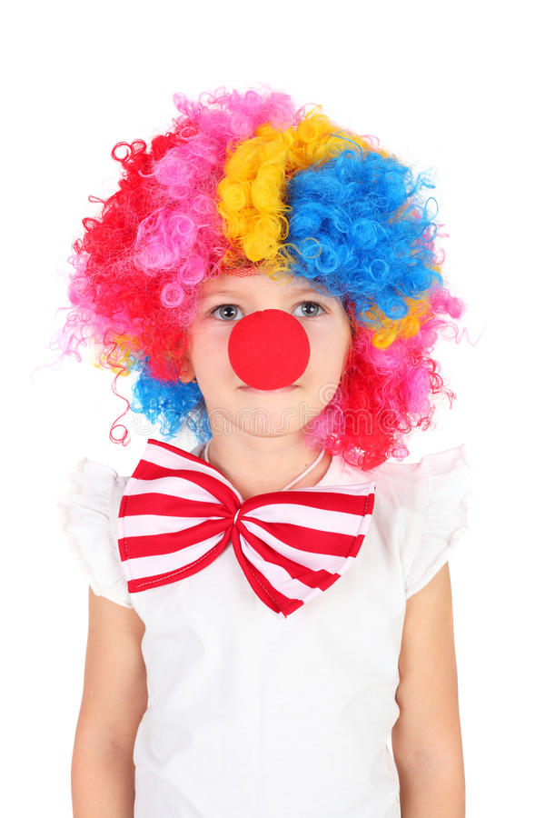 Petit clown photo libre de droits