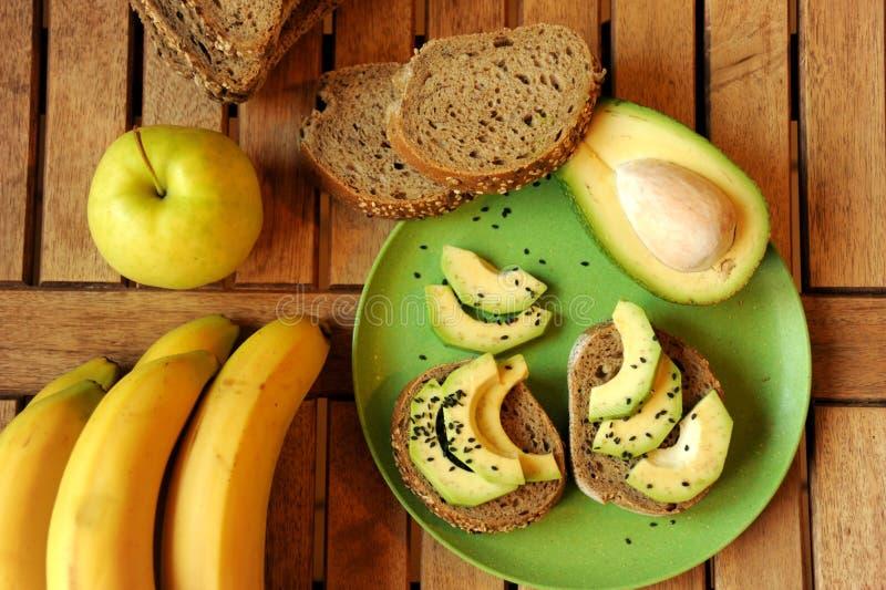 Bevorzugt Petit Déjeuner Alcalin Avec Le Sandwich à Pomme Et à Avocat Photo  NS37