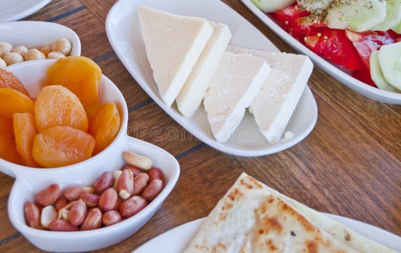 Petit déjeuner égéen délicieux photos libres de droits