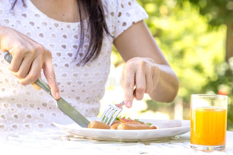 Download Petit déjeuner photo stock. Image du nourriture, sain - 45367660