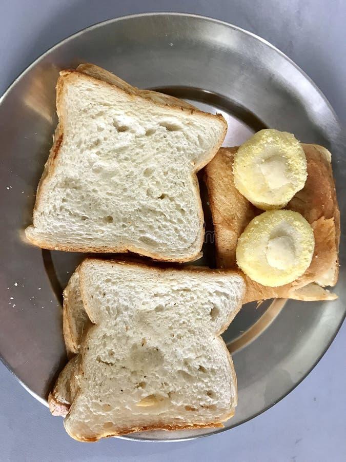 Download Petit déjeuner photo stock. Image du sucreries, plaque - 87707262