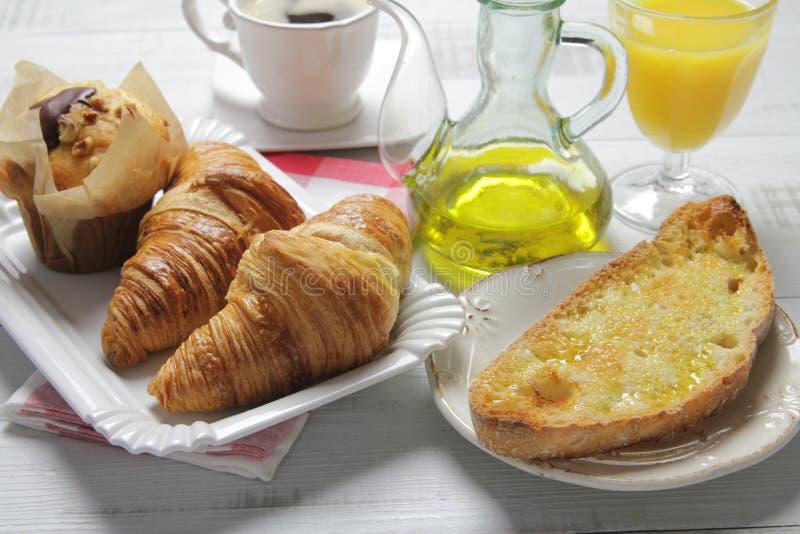 Petit déjeuner continental photo stock