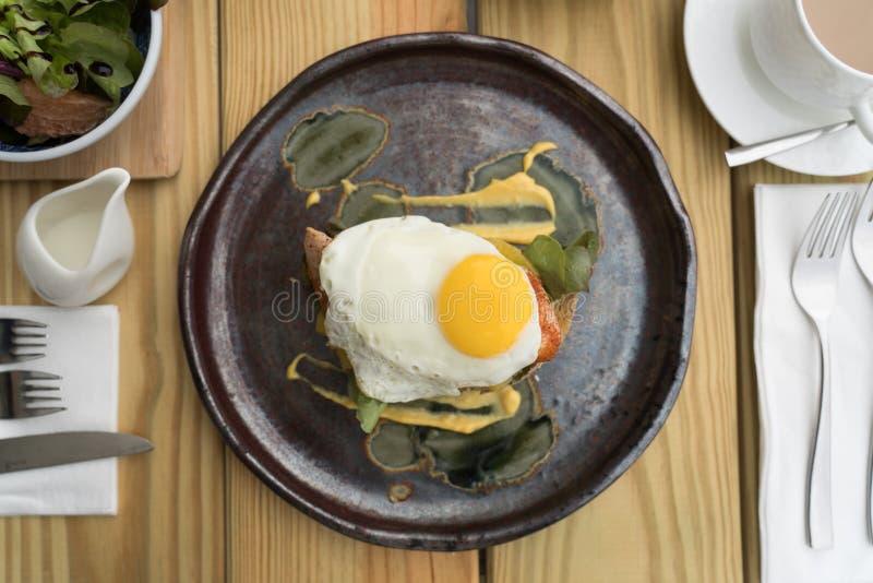 Petit déjeuner délicieux, matin merveilleux image stock