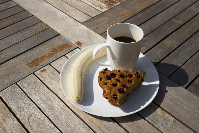 Petit déjeuner d'hydrate de carbone c'est l'énergie pour la journée entière photographie stock libre de droits
