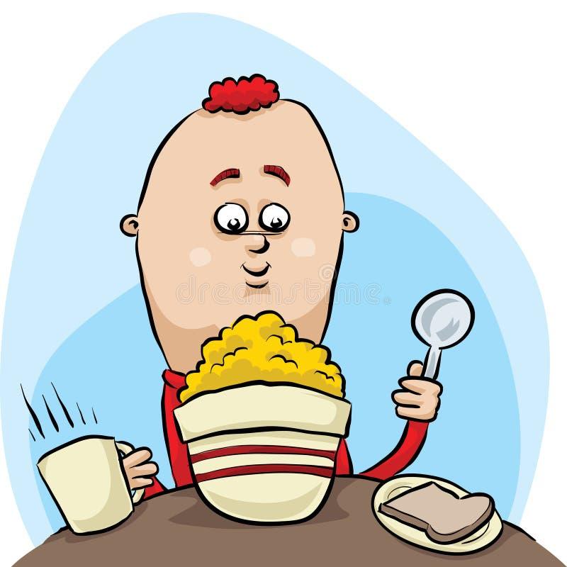 Petit déjeuner de céréale illustration stock