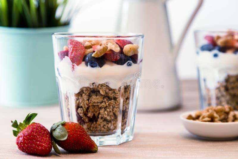 Petit déjeuner de granola images libres de droits