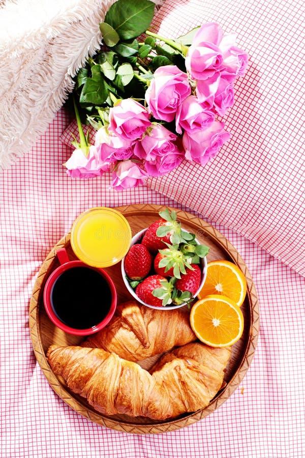 Petit déjeuner de luxe photo stock
