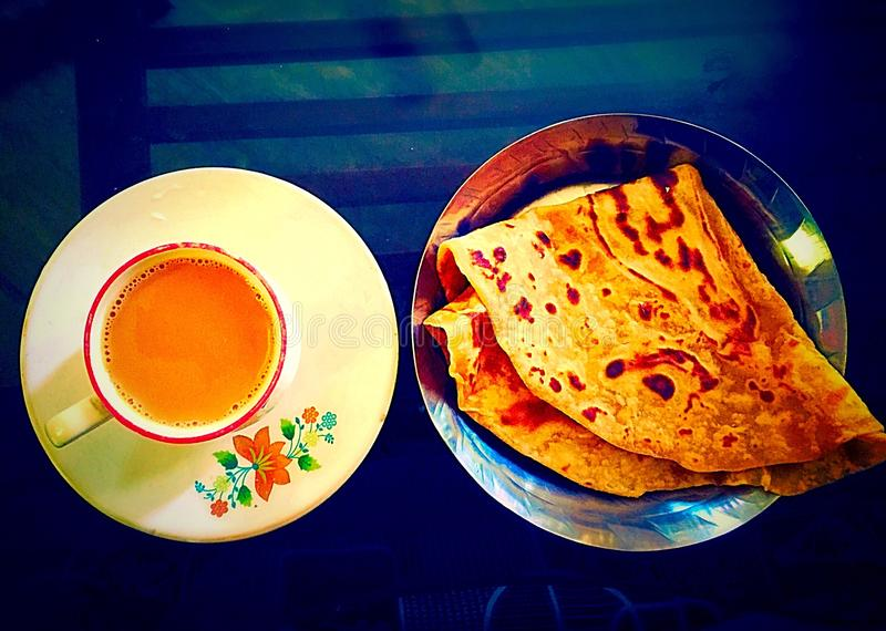 Petit déjeuner de matin image libre de droits