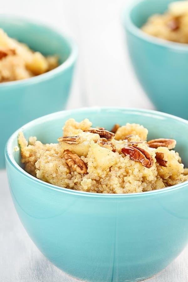 Petit déjeuner de quinoa images libres de droits