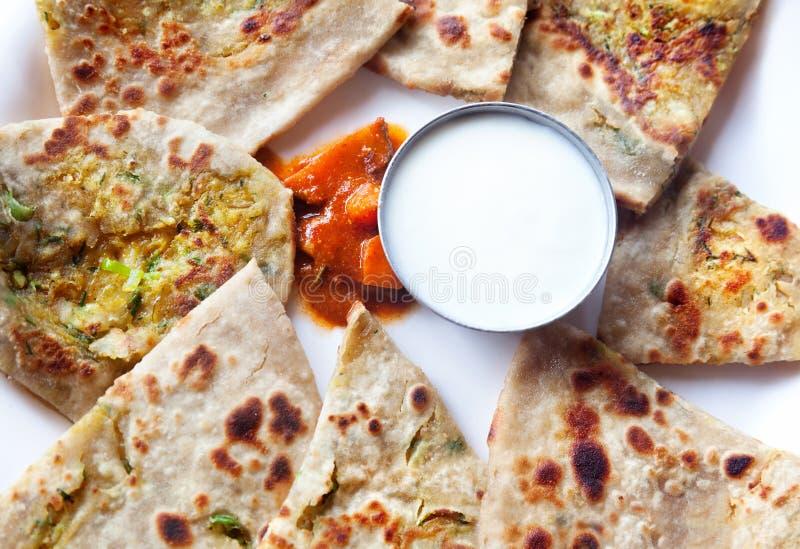 Petit déjeuner indien photographie stock