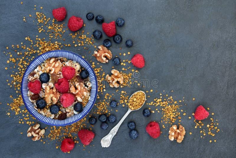Petit déjeuner macrobiotique sain image libre de droits