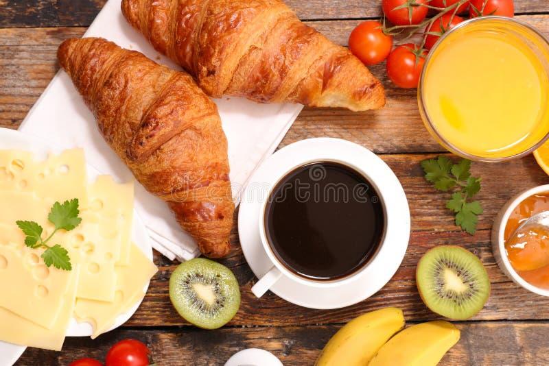 Petit déjeuner ou brunch sain photo libre de droits