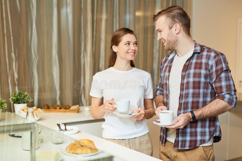 Petit déjeuner pendant le matin photo libre de droits
