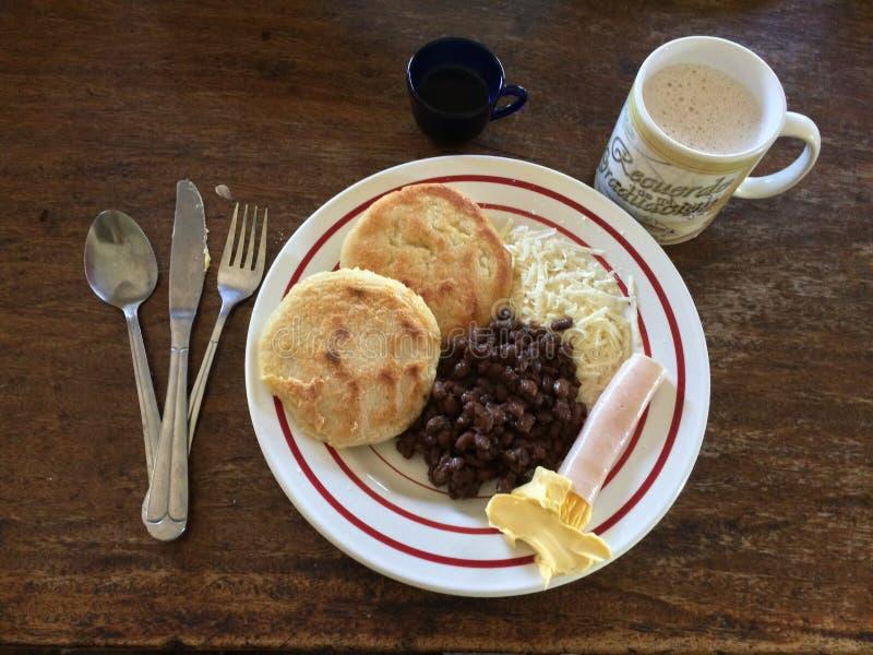 Petit déjeuner vénézuélien photos stock