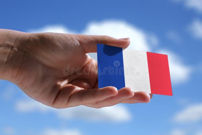 Petit drapeau français photos libres de droits