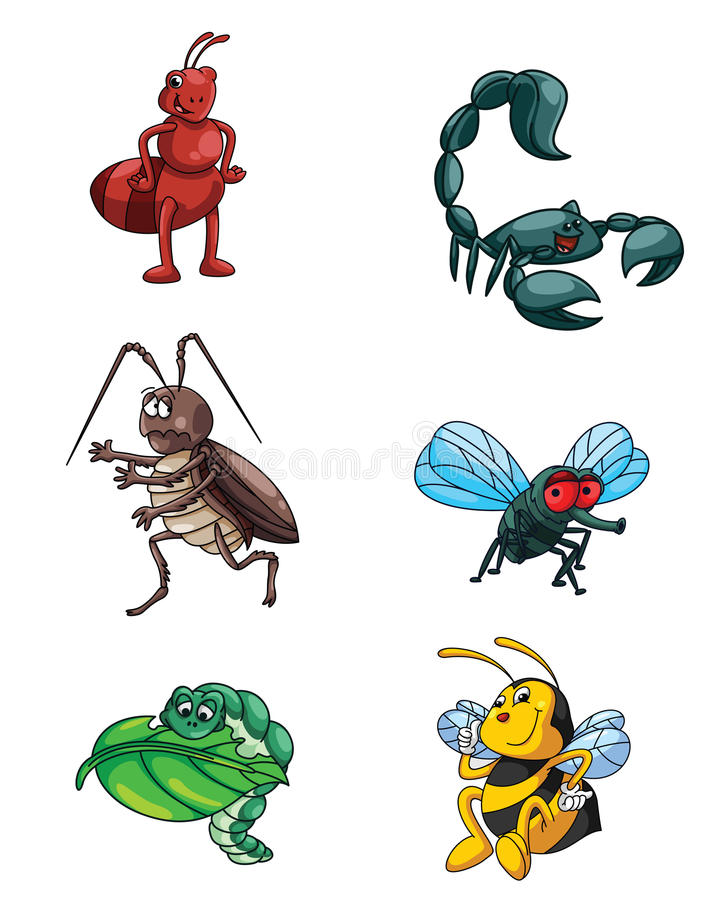 Petit ensemble de collection d'animaux illustration de vecteur